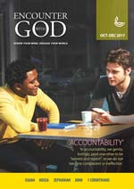 Encounter with God OD17 Print Edition
